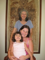 Susan, Pam, daughter Three generations, 2009