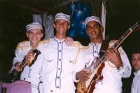 Singers at church