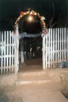 Entrance to Barquinha church, Rio Branco